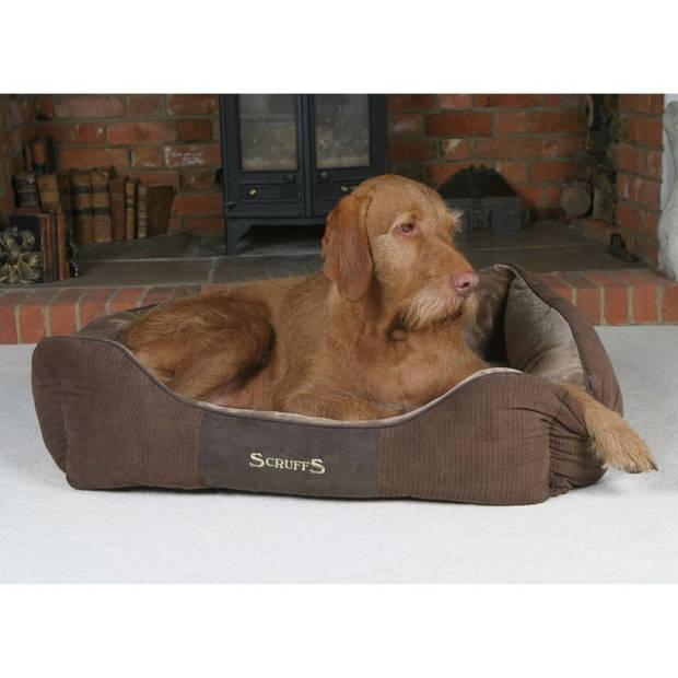 Scruffs & Tramps Huisdierenbed Chester bruin 90x70 cm maat XL 1169