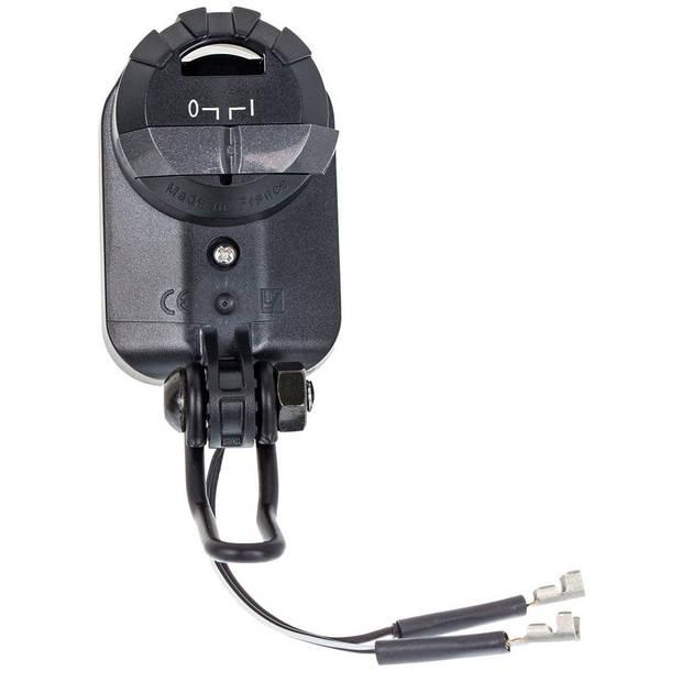 AXA koplamp Pico 30-E Switch led e-bike zwart