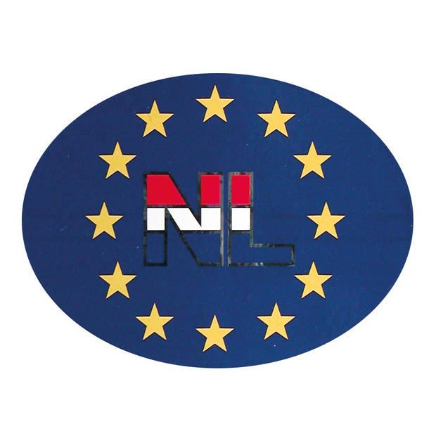 Carpoint Europasticker NL 11 x 9,5 cm blauw