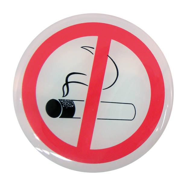 Carpoint autosticker Niet Roken 45 mm wit/rood 2 stuks