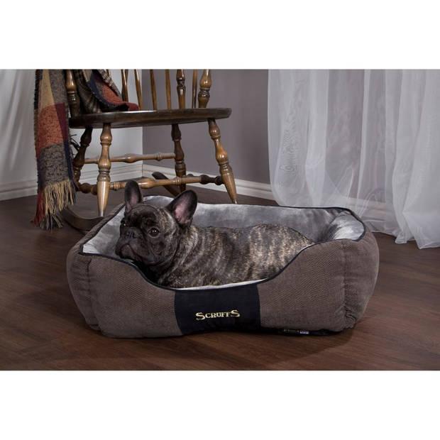 Scruffs & Tramps Huisdierenbed Chester grijs 60x50 cm maat M 1166