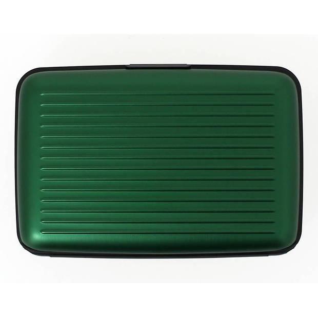 Ogon Designs Stockholm - Aluminium Creditcardhouder - Groen