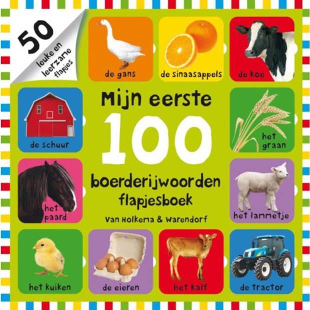 Mijn Eerste 100 Boerderijwoorden Flapjesboek -