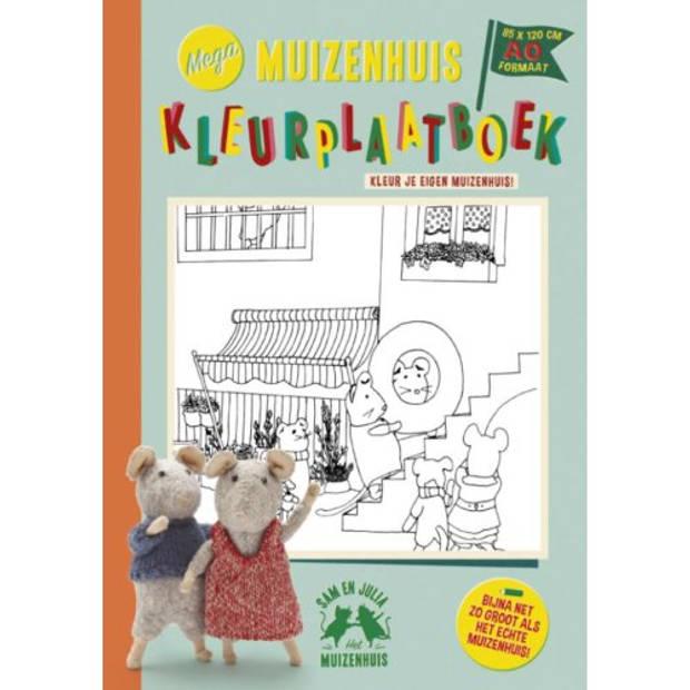 Mega Muizenhuis Kleurplaatboek - Het Muizenhuis