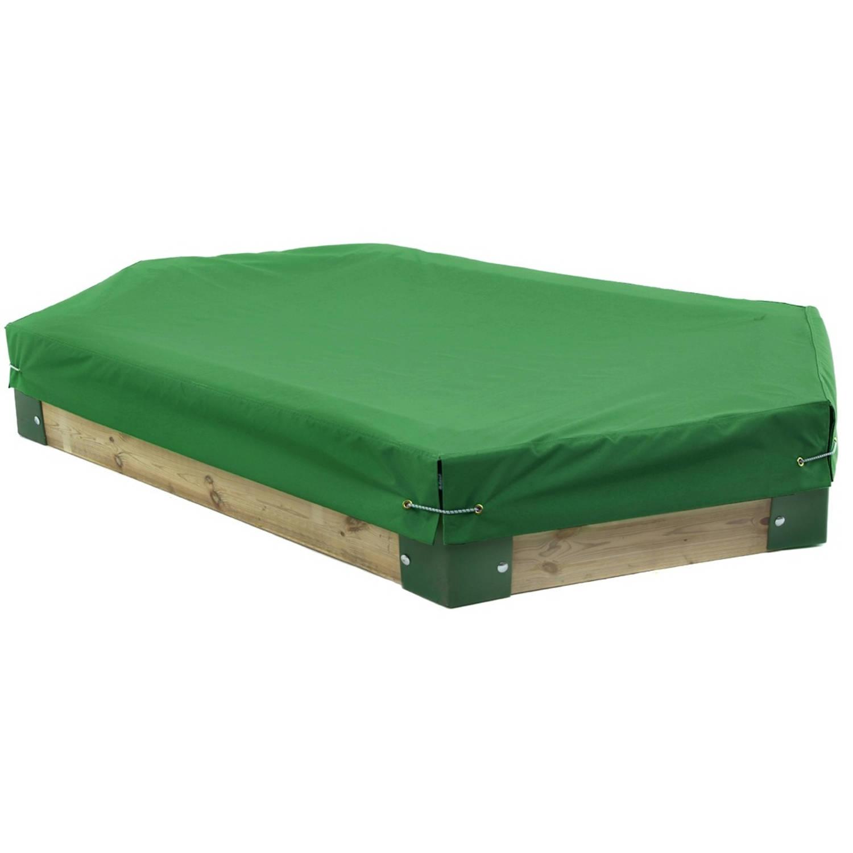 Hörby Bruk afdekhoes voor zandbak 210 van Hörby Bruk groen