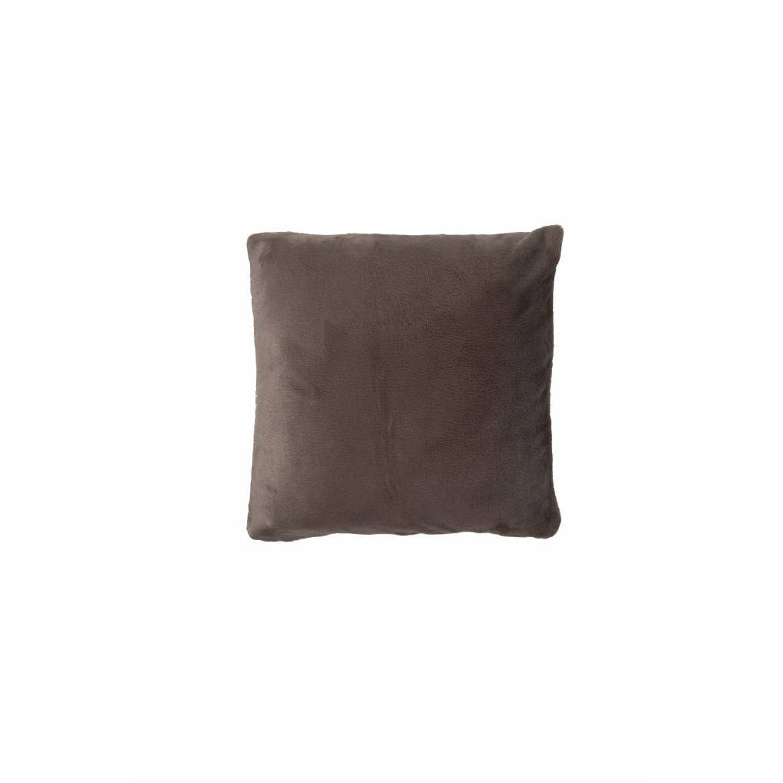 Nightlife Sierkussenhoes Flanel Fleece Taupe