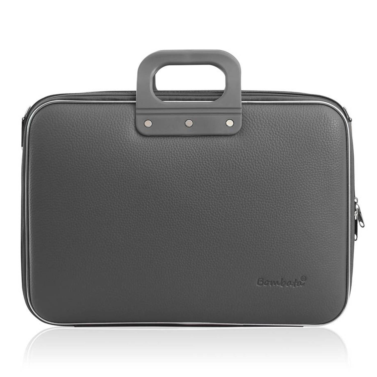 Bombata 15 inch Business Laptoptas Houtskool grijs