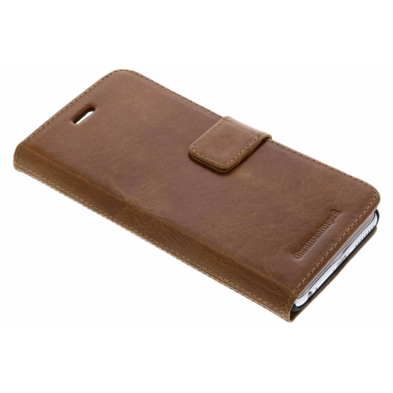Bruine Lynge Book Case voor de iPhone 6(s) Plus