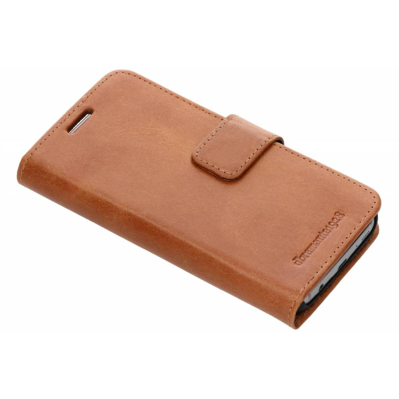 Bruine Lynge Book Case voor de Samsung Galaxy S7