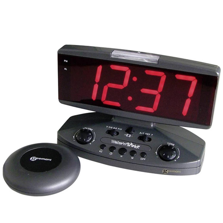 Alarm klok met tril functie Geemarc