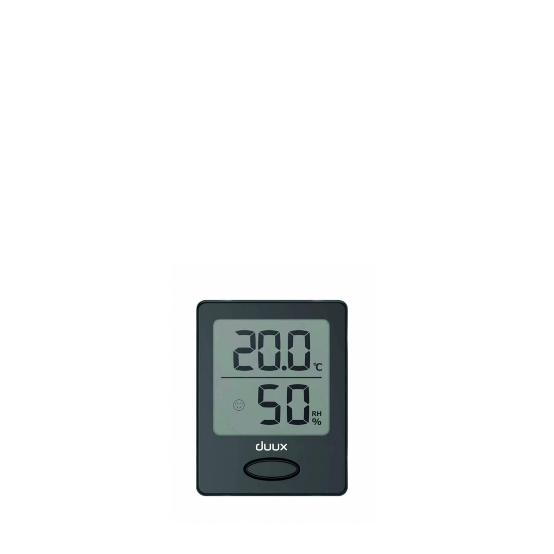 Duux Sense Hygrometer Thermometer Zwart