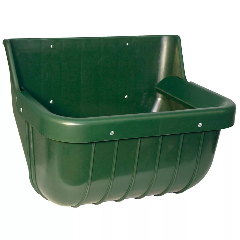 Kerbl Voerbak 15 L kunststof groen