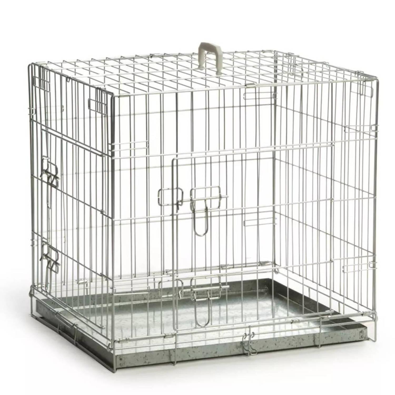 Beeztees Hondenbench 63x55x61 cm zilver 715771