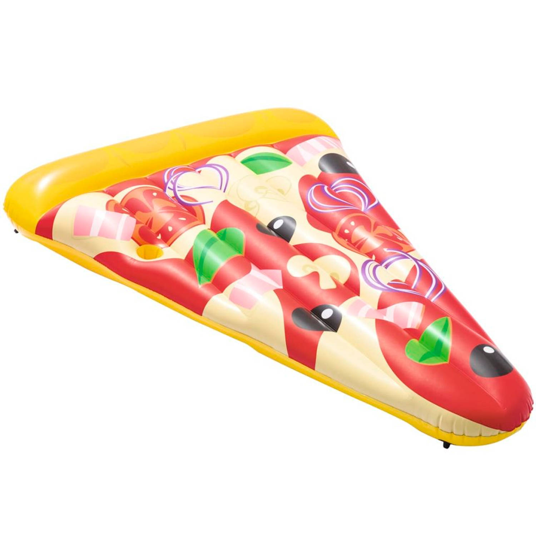 Bestway Luchtbed opblaasbaar Pizza Party 188x130 cm