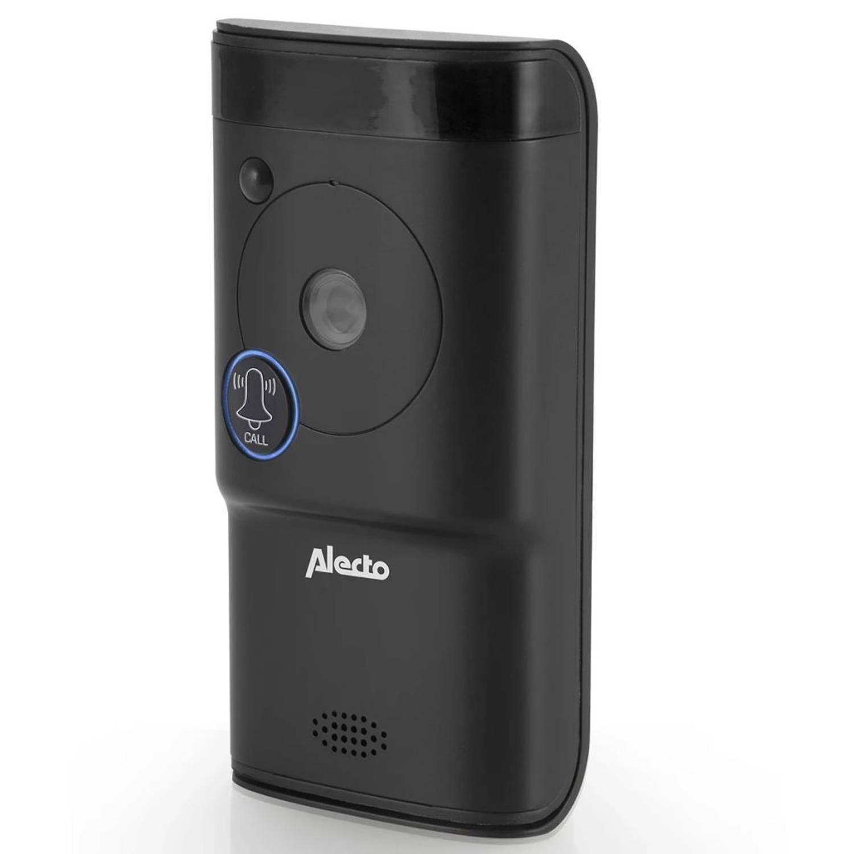 Alecto Deurbel met camera en wifi zwart DVC-1000