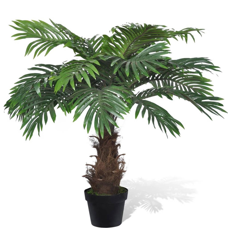 Kunstplant Cycas palmboom 80 cm