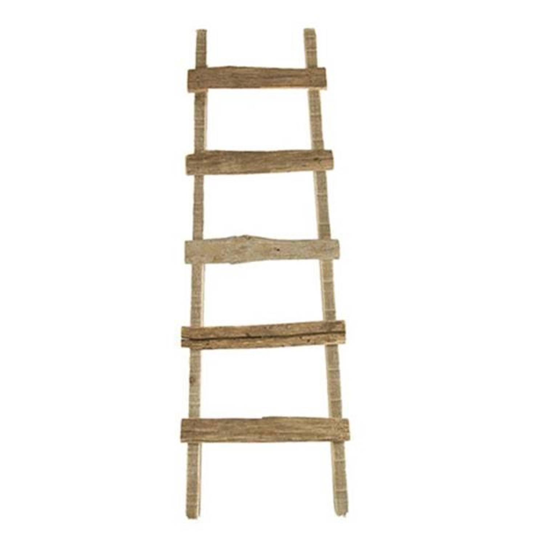 Houten Decoratie Ladder Lara 37x5xH118 cm