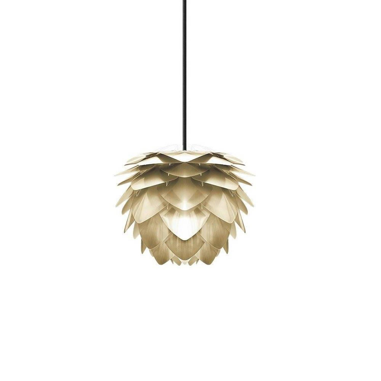 Vita Hanglamp Silvia mat goud mini