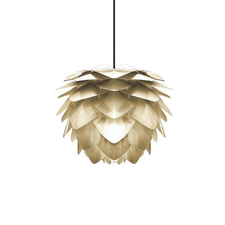 Vita Hanglamp Silvia mat goud medium