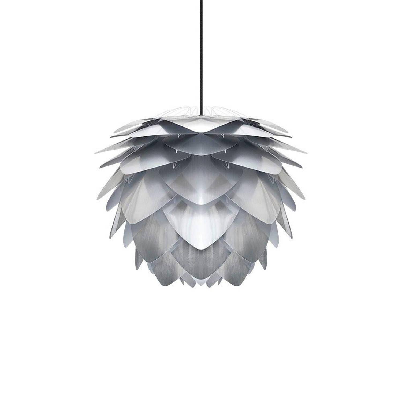 Vita Hanglamp Silvia zilver medium