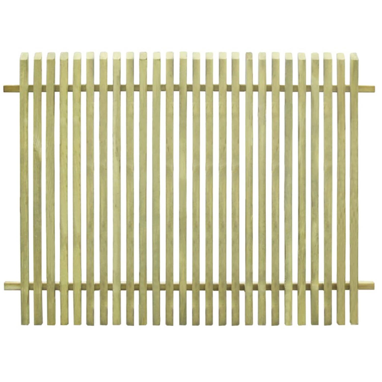 Image of vidaXL Tuinhek 170x125 cm geïmpregneerd grenenhout