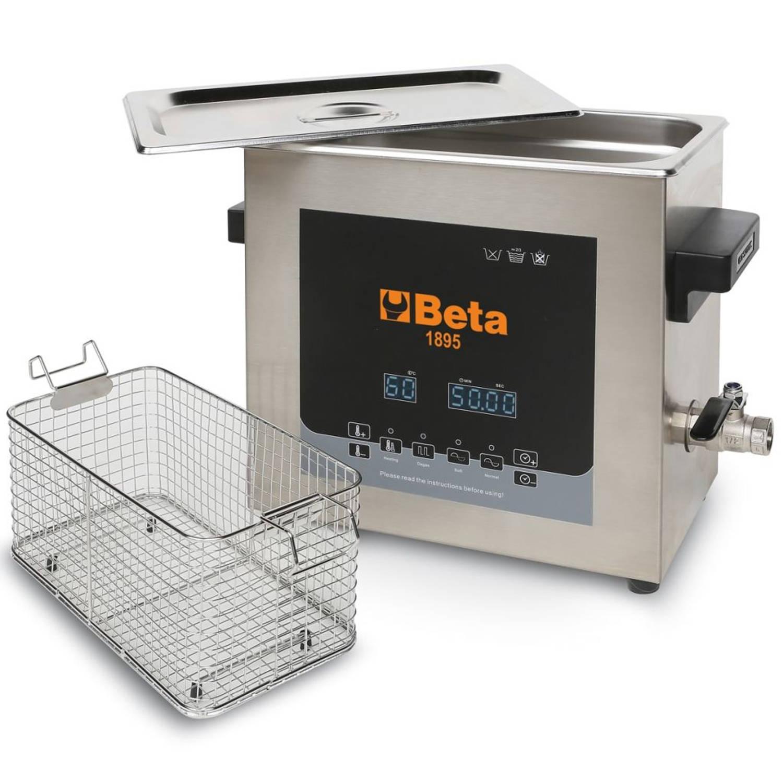 Beta Tools Ultrasonische reinigingstank 1895 6 300 W 018950060