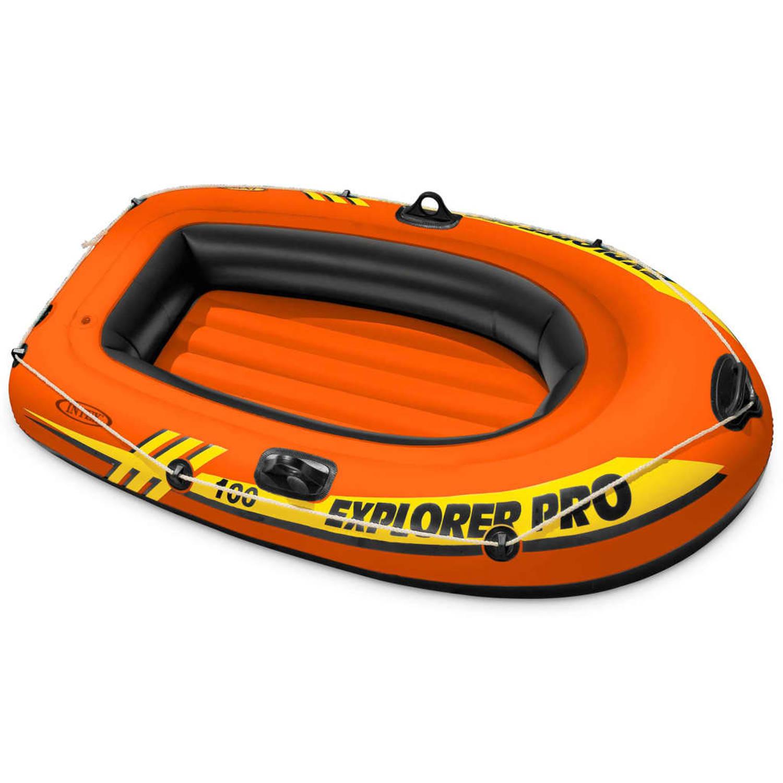 Intex Opblaasboot Explorer Pro 100 160x94x29 cm 58355NP