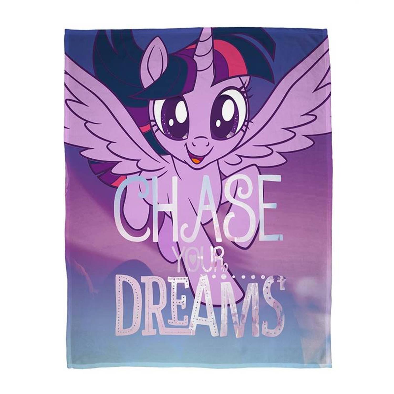 My Little Pony fleece plaid - 100% polyester - 100x150 cm - Multi