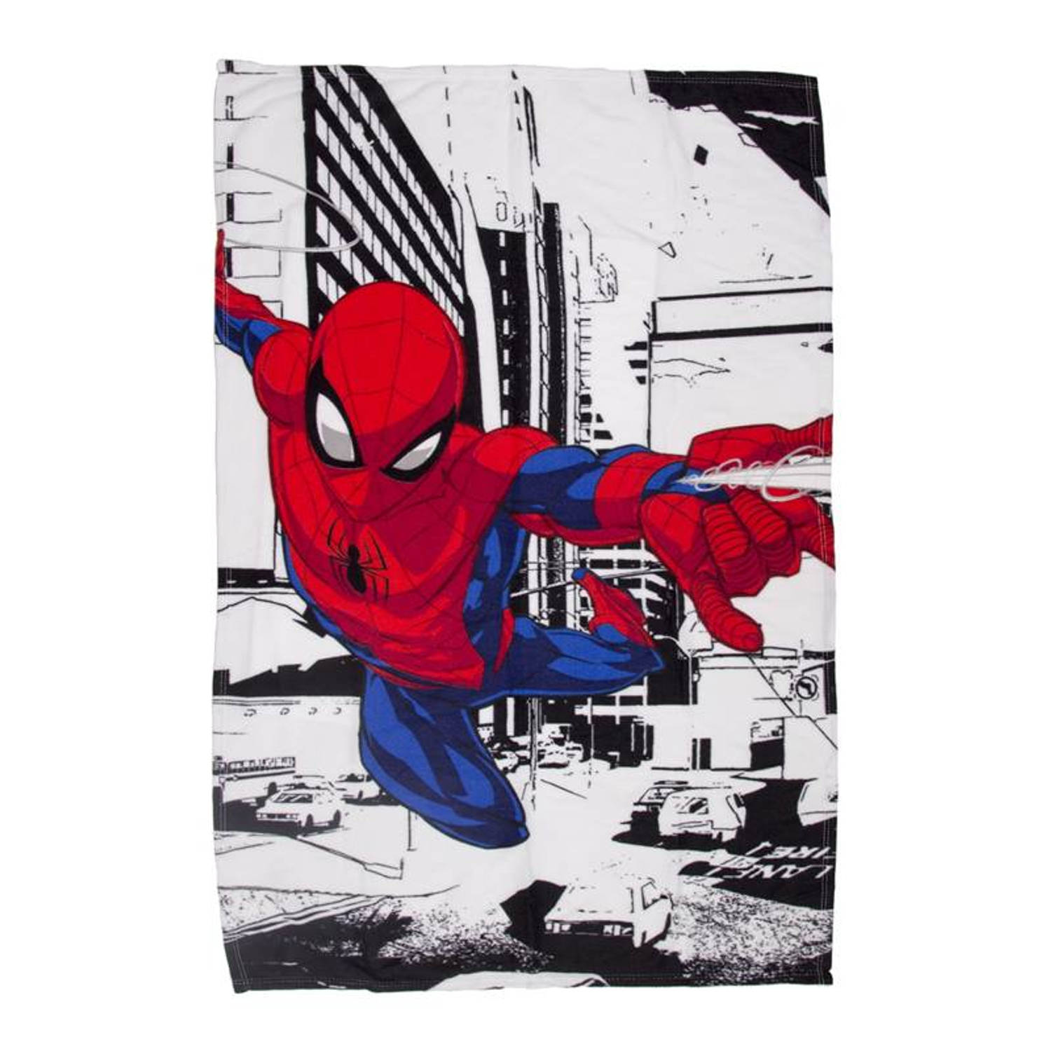 DC Comics Spiderman fleece plaid - 100% polyester - 100x150 cm - Multi
