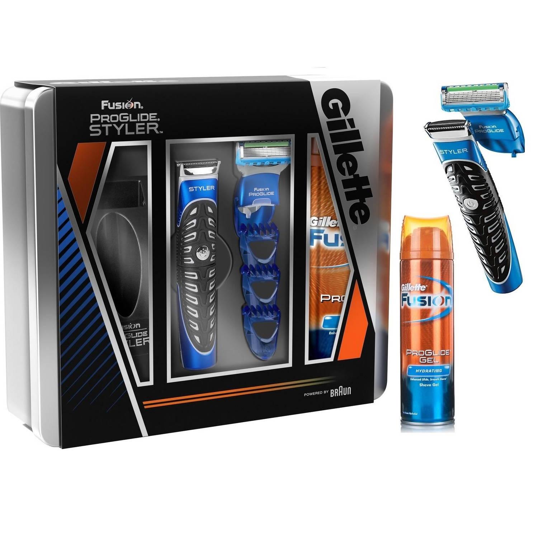 Gillette Fusion Proglide Styler Set Doos