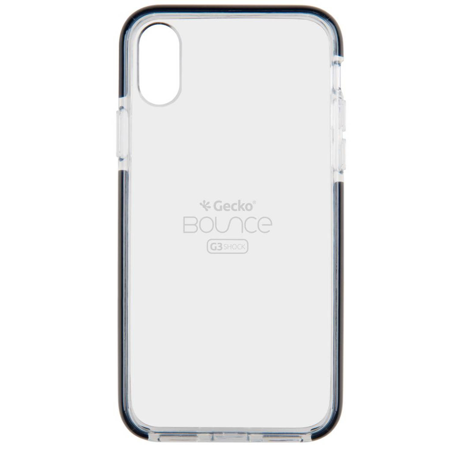 Zwarte Back Cover Bounce voor de iPhone X
