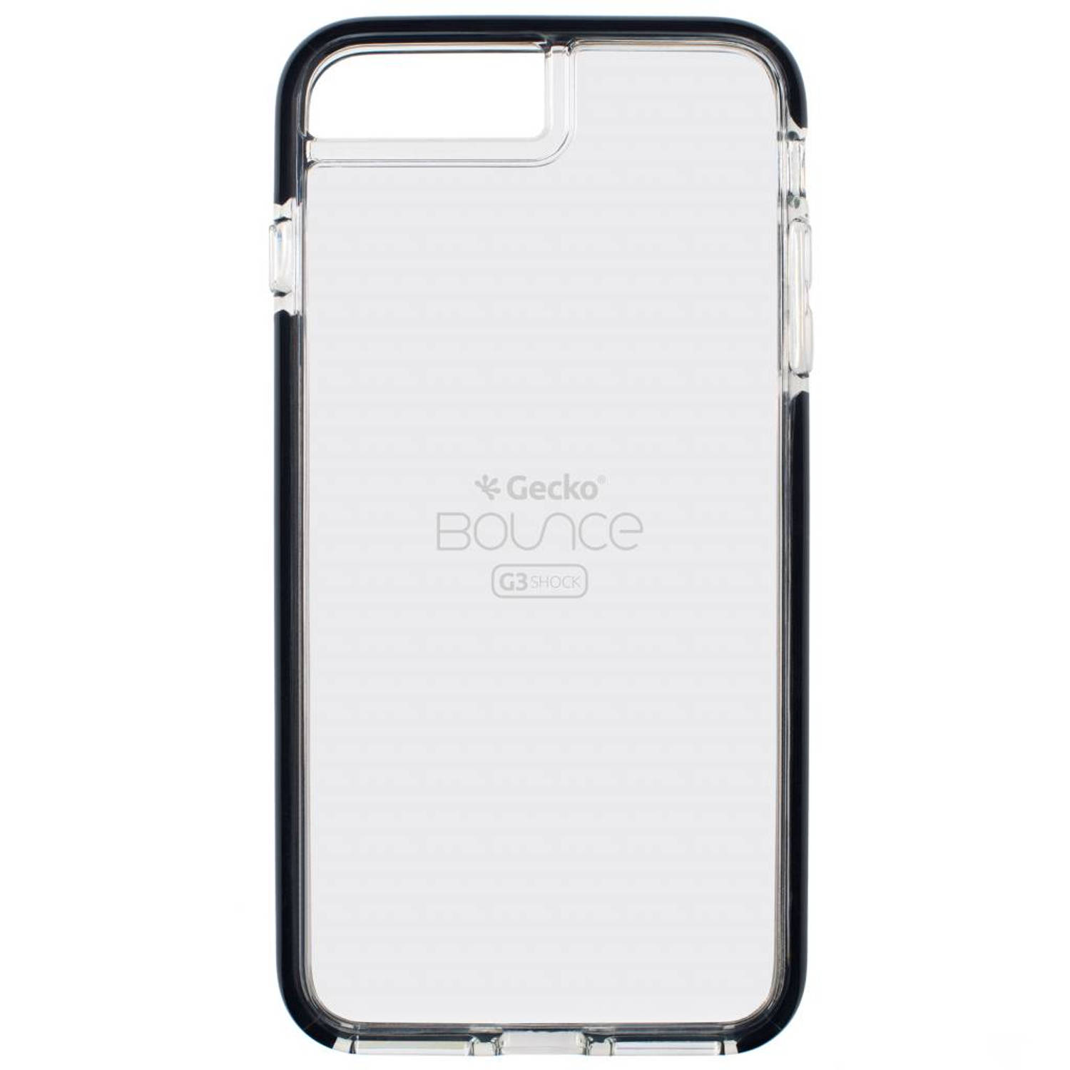 Zwarte Back Cover Bounce voor de iPhone 8 Plus / 7 Plus