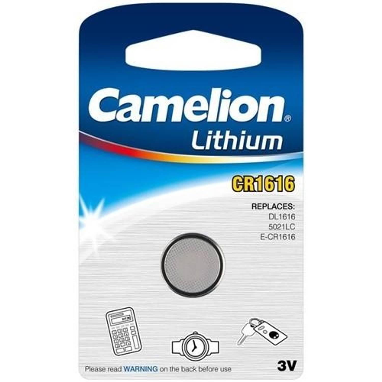 Camelion batterij knoopcel Lithium 3V CR1616 per stuk