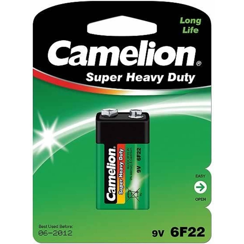 Korting Camelion Batterij 6f22 (9v 400 Mah) Per Stuk
