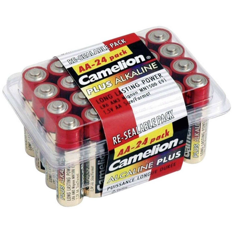Camelion batterijen Alkaline Plus AA LR6 24 stuks
