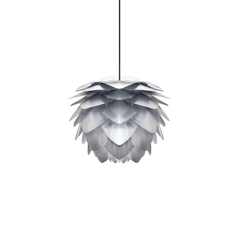Vita Hanglamp Silvia zilver mini