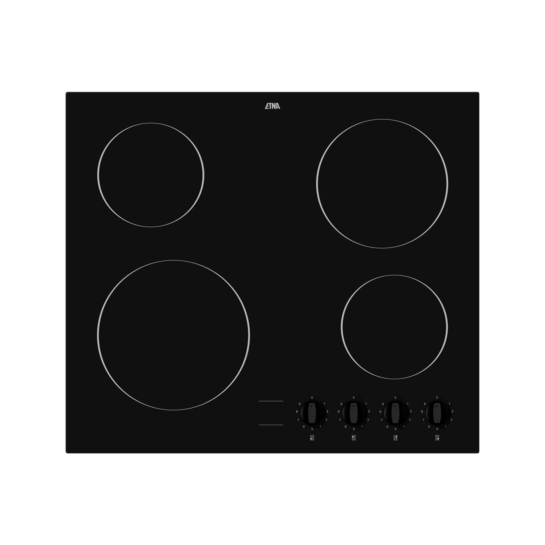 ETNA KC160ZT elektrische kookplaten - Zwart