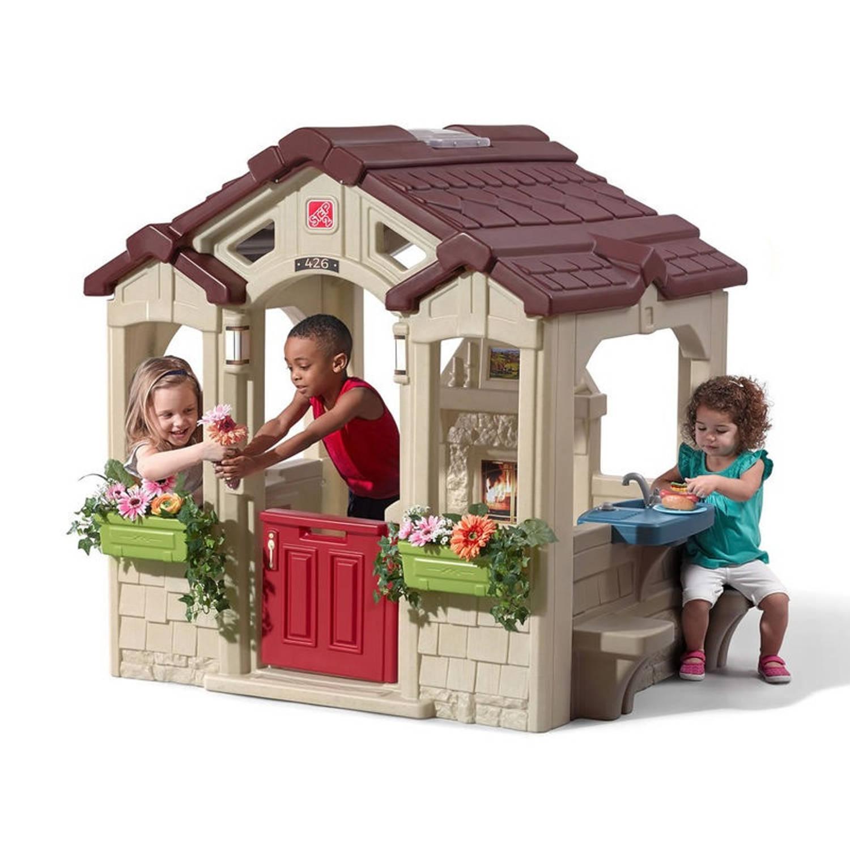 Step2 speeltoestel Charming Cottage 127,5x149x147,5 cm