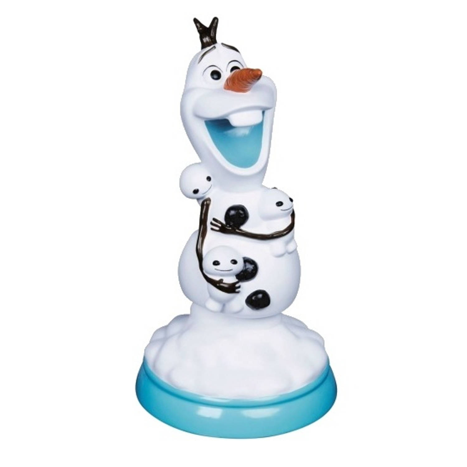 Disney lamp Frozen Olaf 32 cm wit