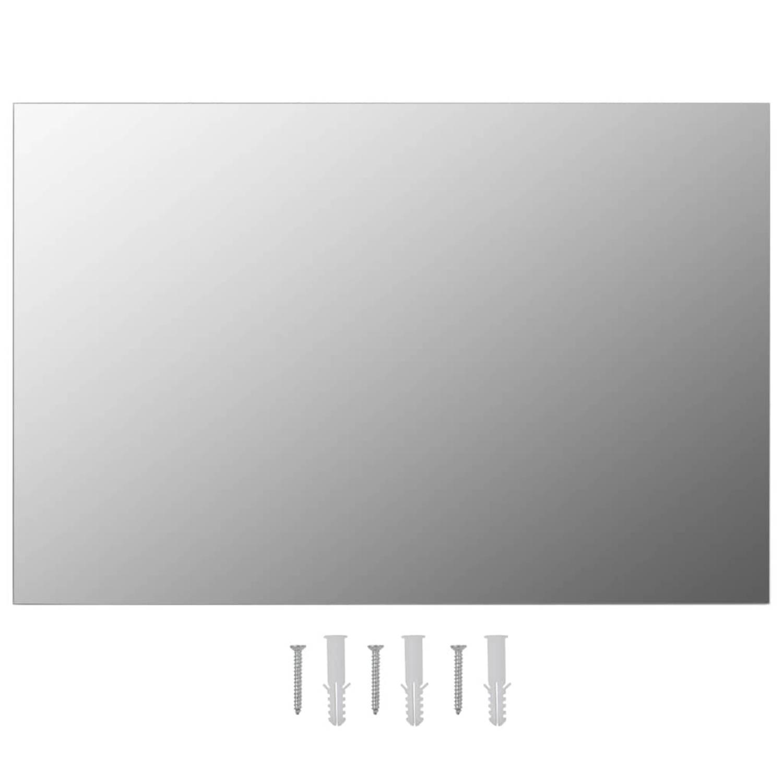 vidaXL Wandspiegel rechthoekig 60x40 cm glas