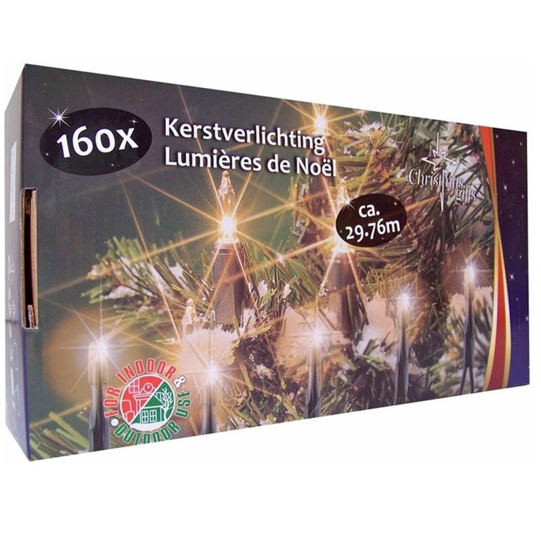 Kerstverlichting helder buiten 160 lampjes 29 meter kerstlampjes