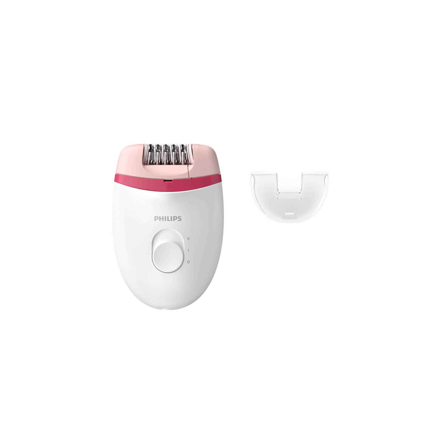 Philips epilator Satinelle Essential BRE235 00 wit roze