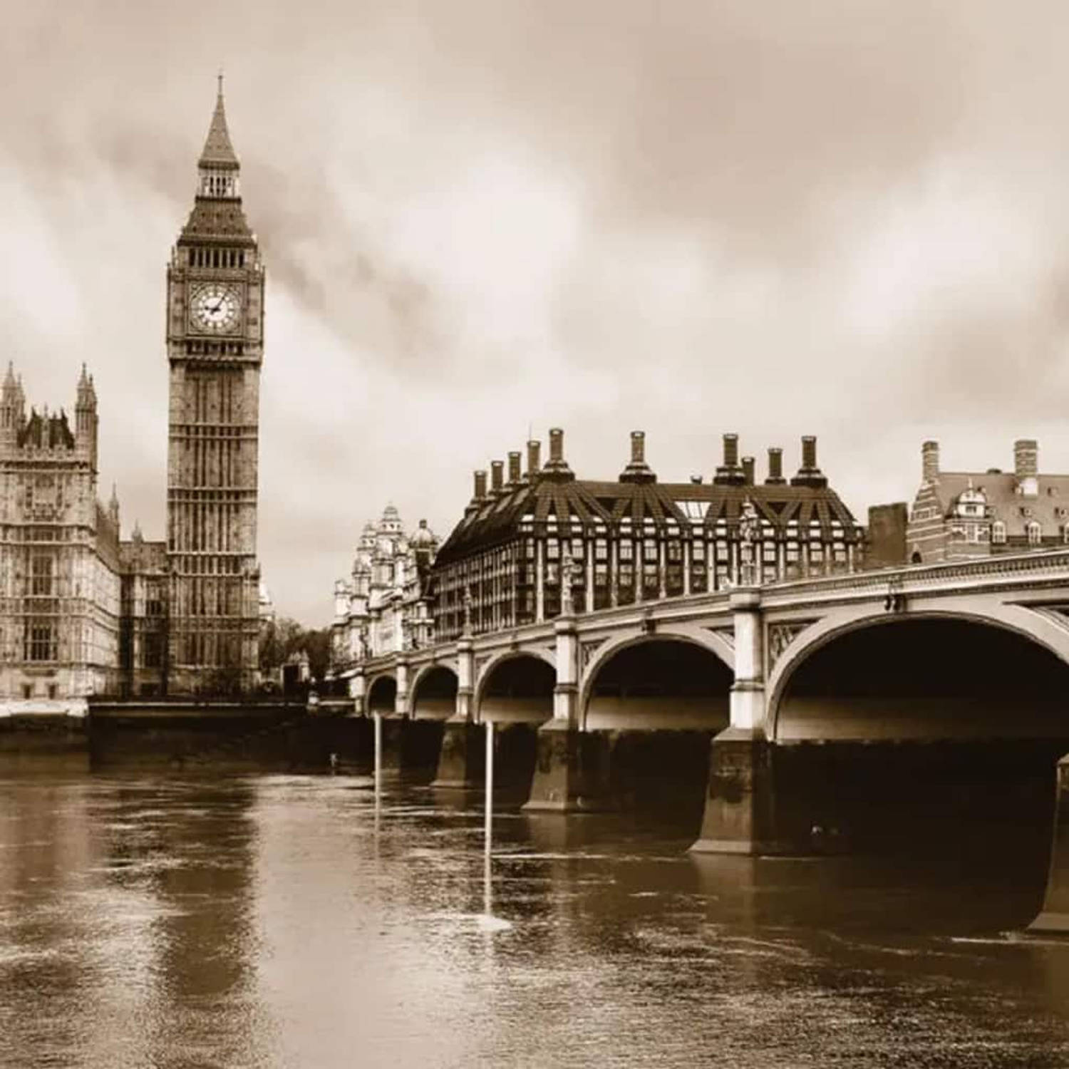 AG Design Fotobehang London FTS0480
