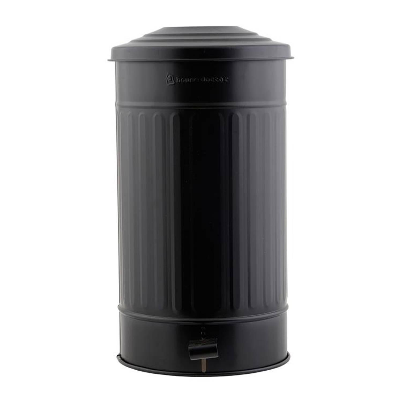 House Doctor Prullenbak 24 Liter Matzwart