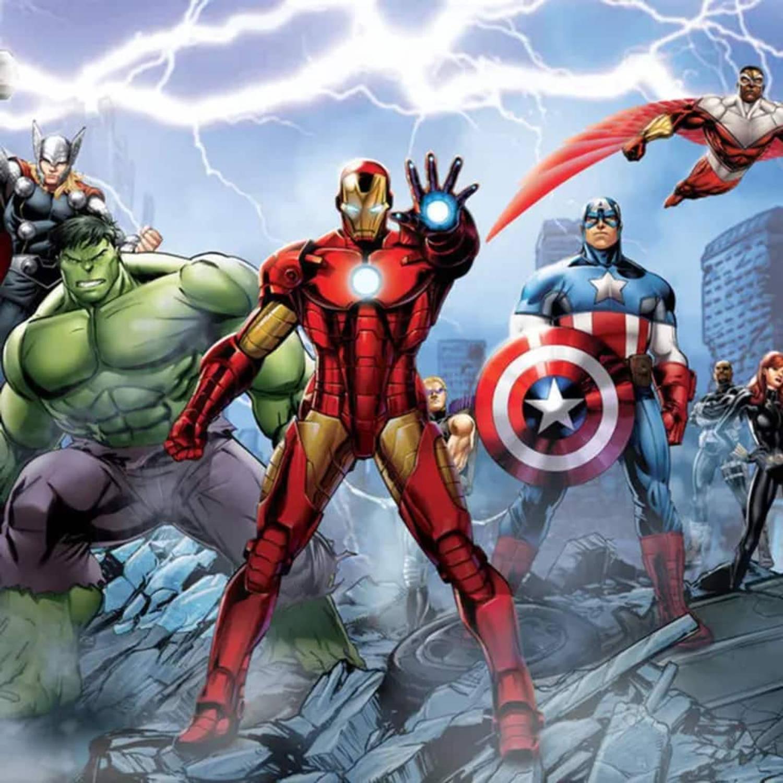 Afbeelding van AG Design Fotobehang Avengers FTD2230