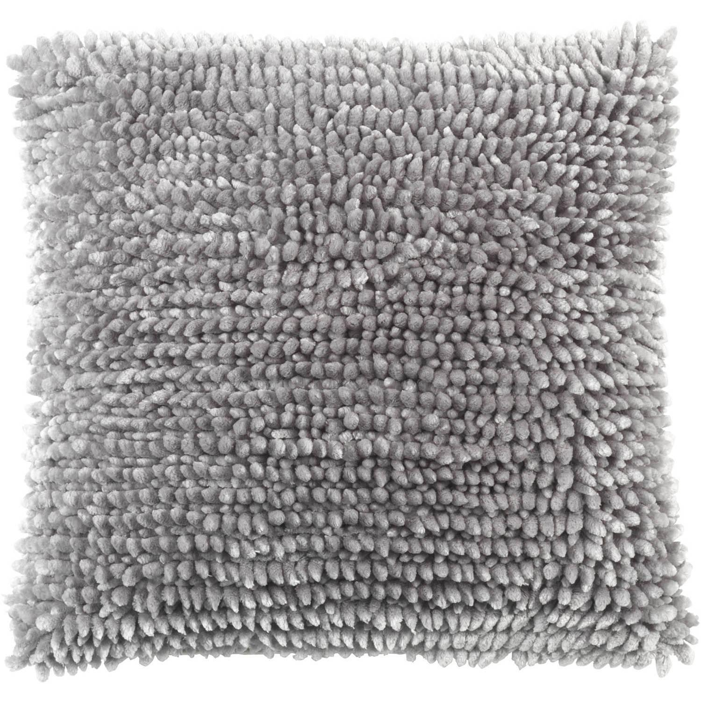 Dutch Decor Kussenhoes Yvan 45x45 cm middengrijs