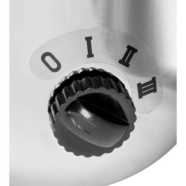 Blokker statiefventilator BL-30007 40 cm - chroom