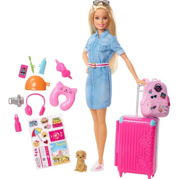 Barbie tienerpop Dreamhouse Adventures op reis 30 cm