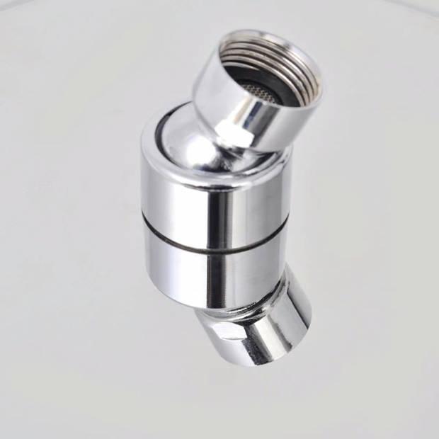 vidaXL Regendouchekop vierkant 30x30 cm roestvrij staal