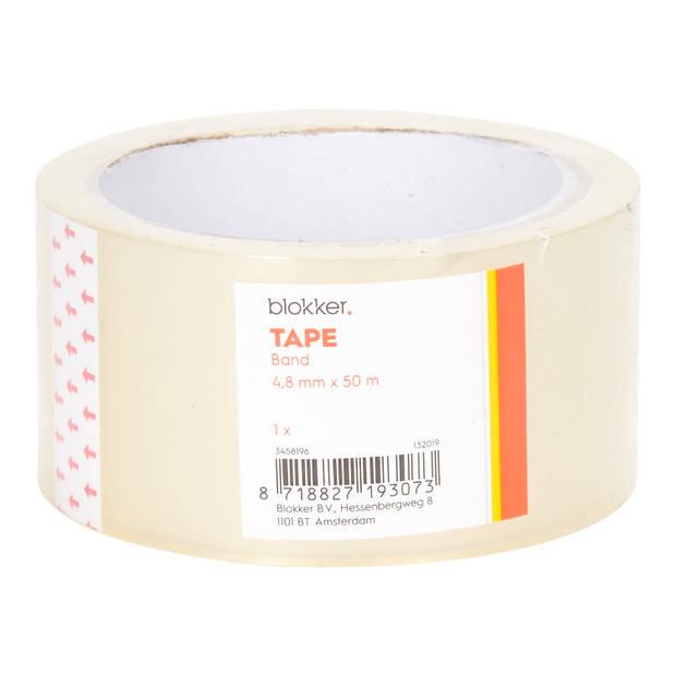 Blokker rol tape 5 meter